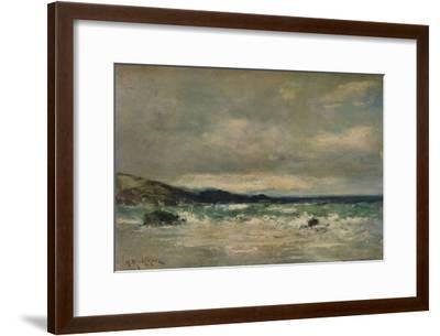 The Coming Breeze, c1901-Harry Musgrave-Framed Giclee Print