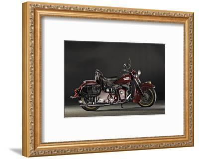 Indian Roadmaster Chief 1953-Simon Clay-Framed Photographic Print