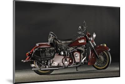 Indian Roadmaster Chief 1953-Simon Clay-Mounted Photographic Print