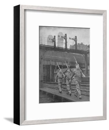 Britain on Guard, 1940, (1940)--Framed Photographic Print