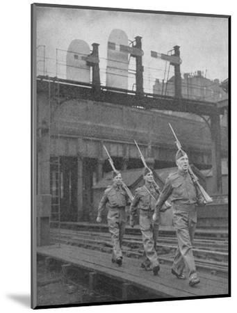Britain on Guard, 1940, (1940)--Mounted Photographic Print