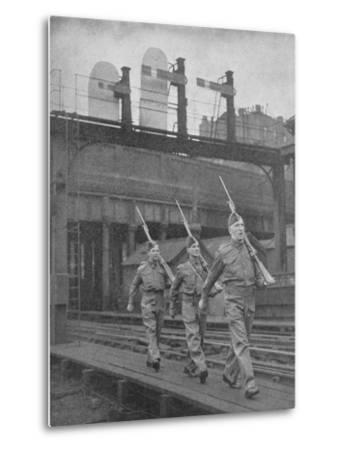 Britain on Guard, 1940, (1940)--Metal Print