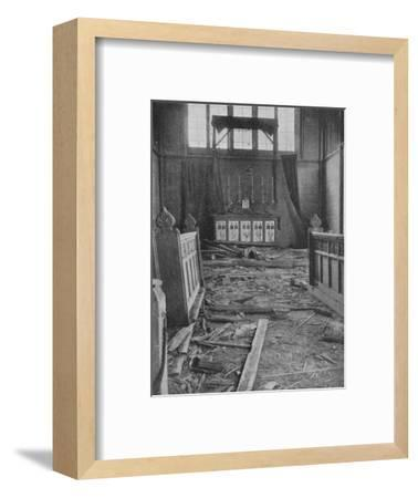 Guns Shell Dover from French Coast, 1940, (1940)--Framed Photographic Print