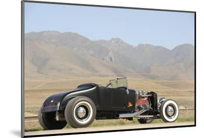 Ford Burning Desire Roadster 1927-Simon Clay-Mounted Photographic Print