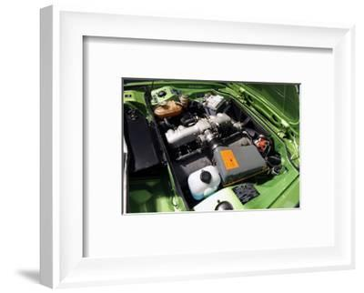 BMW 3.0 CSL BAT 1975-Simon Clay-Framed Photographic Print