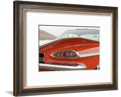 Chevrolet Impala Bubble top 1959-Simon Clay-Framed Photographic Print