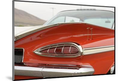 Chevrolet Impala Bubble top 1959-Simon Clay-Mounted Photographic Print
