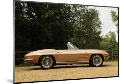 Chevrolet Corvette Stingray convertible 1964-Simon Clay-Mounted Photographic Print