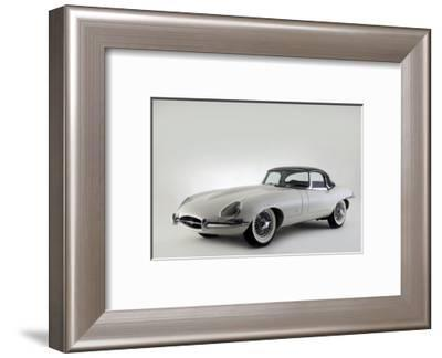 Jaguar E type 1961-Simon Clay-Framed Photographic Print