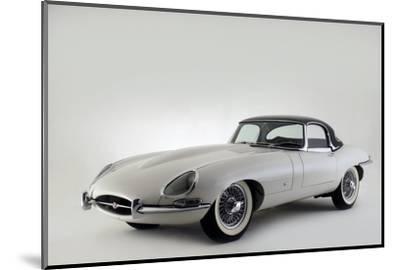 Jaguar E type 1961-Simon Clay-Mounted Photographic Print
