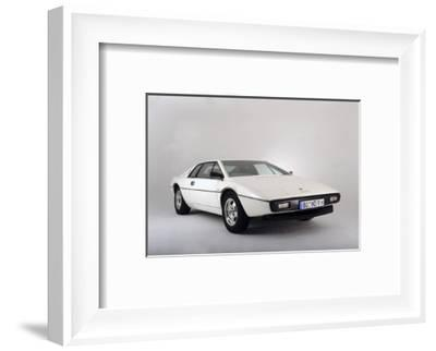 Lotus Esprit 1977 from the James Bond film The Spy Who Loved Me-Simon Clay-Framed Photographic Print