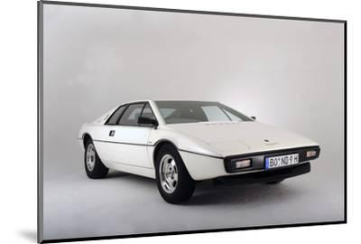 Lotus Esprit 1977 from the James Bond film The Spy Who Loved Me-Simon Clay-Mounted Photographic Print