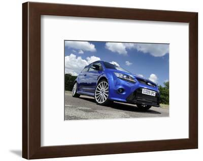 Ford Focus RS 2009-Simon Clay-Framed Photographic Print