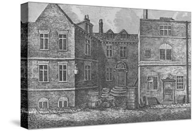 Monteagle House, Near St. Saviours Church, Southwark, 1808, (1912)-J Pass-Stretched Canvas Print