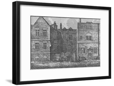 Monteagle House, Near St. Saviours Church, Southwark, 1808, (1912)-J Pass-Framed Giclee Print