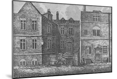 Monteagle House, Near St. Saviours Church, Southwark, 1808, (1912)-J Pass-Mounted Giclee Print