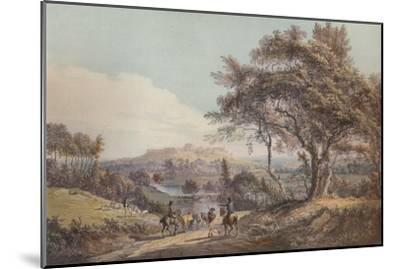Windsor, 1785-Paul Sandby-Mounted Giclee Print