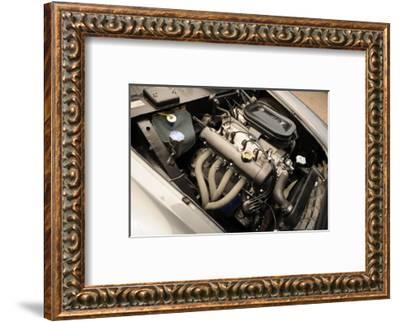 Fiat 1600s split window 1963-Simon Clay-Framed Photographic Print