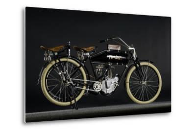 Flanders beltdrive single 1912-Simon Clay-Metal Print
