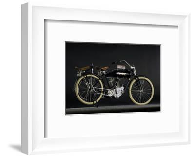 Flanders beltdrive single 1912-Simon Clay-Framed Photographic Print