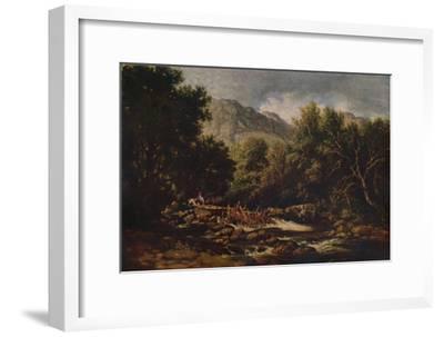 On the Lledr, c1844-David Cox the elder-Framed Giclee Print