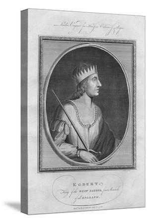 Egbert, King of Wessex, 1786--Stretched Canvas Print