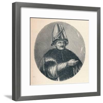 Mustafa Bairakdar, c1906, (1907)--Framed Giclee Print