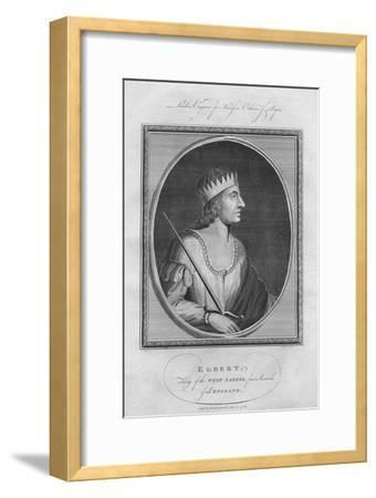 Egbert, King of Wessex, 1786--Framed Giclee Print