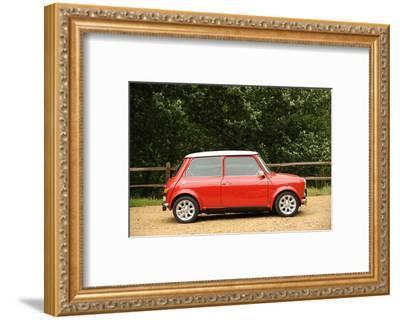 Rover Mini Cooper works 1998-Simon Clay-Framed Photographic Print