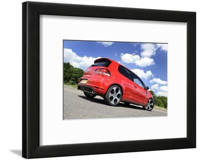 VW Golf GTI mk 6 2008-Simon Clay-Framed Photographic Print