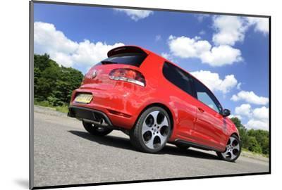 VW Golf GTI mk 6 2008-Simon Clay-Mounted Photographic Print