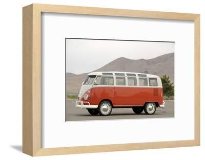 VW micro bus 1964-Simon Clay-Framed Photographic Print