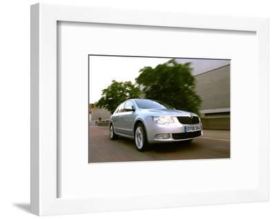 Skoda SUPERB 2008-Simon Clay-Framed Photographic Print