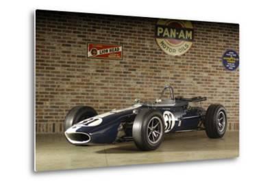 Gurney Eagle racing car 1966-Simon Clay-Metal Print