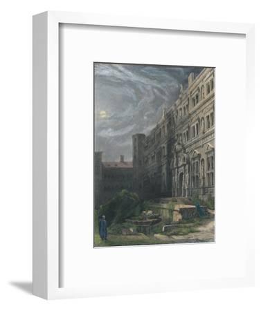 The Great Court of Heidelberg, 1834-Henry Winkles-Framed Giclee Print