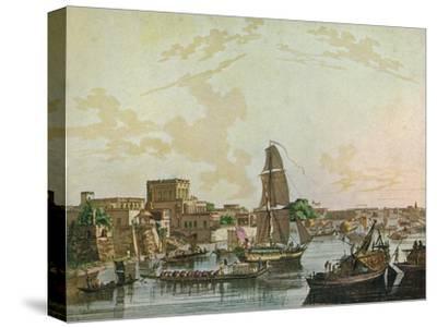 Calcutta, 1788-Thomas Daniell-Stretched Canvas Print