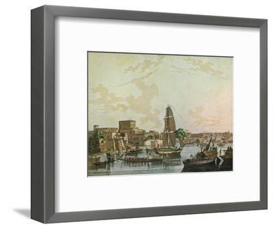 Calcutta, 1788-Thomas Daniell-Framed Giclee Print