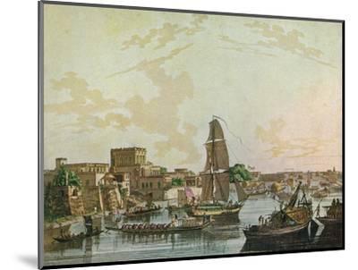 Calcutta, 1788-Thomas Daniell-Mounted Giclee Print
