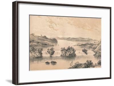 Lake Victoria Nyanza, c1880--Framed Giclee Print