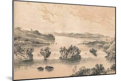 Lake Victoria Nyanza, c1880--Mounted Giclee Print