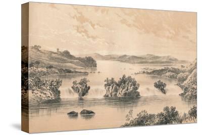 Lake Victoria Nyanza, c1880--Stretched Canvas Print