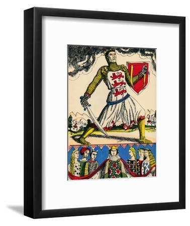 Edward I, King of England from 1272, (1932)-Rosalind Thornycroft-Framed Giclee Print