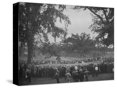 18th green, The Country Club, Brookline, Massachusetts, 1925--Stretched Canvas Print