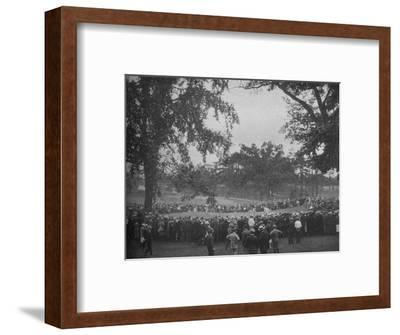 18th green, The Country Club, Brookline, Massachusetts, 1925--Framed Photographic Print