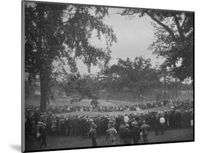 18th green, The Country Club, Brookline, Massachusetts, 1925--Mounted Photographic Print