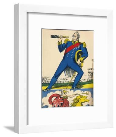 William IV, King of Great Britain and Ireland from 1830, (1932)-Rosalind Thornycroft-Framed Giclee Print