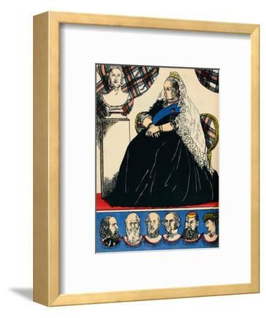 Victoria, Queen of Great Britain and Ireland from 1837, (1932)-Rosalind Thornycroft-Framed Giclee Print