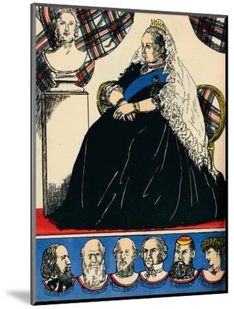 Victoria, Queen of Great Britain and Ireland from 1837, (1932)-Rosalind Thornycroft-Mounted Giclee Print