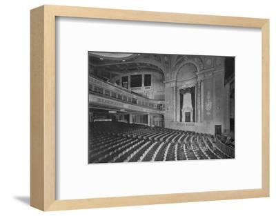 Auditorium of the Premier Theatre, Brooklyn, New York, 1925--Framed Photographic Print