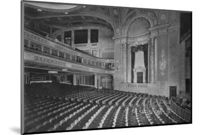 Auditorium of the Premier Theatre, Brooklyn, New York, 1925--Mounted Photographic Print